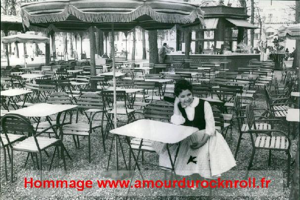 Brenda lee jardin des tuileries paris 1959 for Kiosque jardin des tuileries